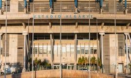 阿尔加威橄榄球场的建筑细节 库存照片