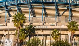 阿尔加威橄榄球场的建筑细节 图库摄影