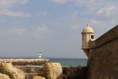 阿尔加威,著名区域在葡萄牙 免版税库存照片