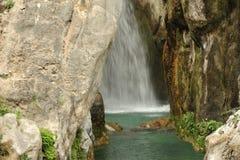 阿尔加瀑布 库存图片