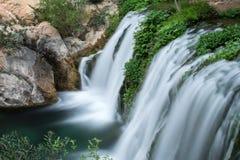 阿尔加秋天 地区阿利坎特 西班牙 免版税库存图片