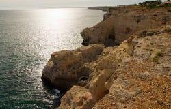 阿尔加Seco在阿尔加威在葡萄牙 免版税库存图片