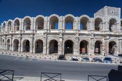 阿尔勒竞技场法国 免版税库存照片