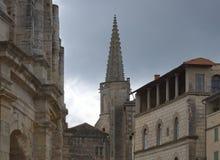 阿尔勒竞技场- Camargue -普罗旺斯-法国 免版税库存图片