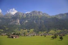 阿尔卑斯。瑞士 免版税库存照片