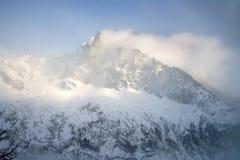 阿尔卑斯冬天 图库摄影