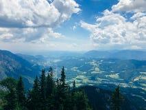 阿尔卑斯在奥地利 库存图片