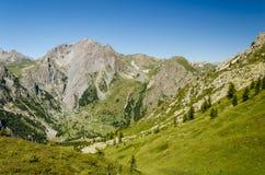阿尔卑斯外形 库存图片