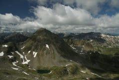 阿尔卑斯奥地利夏天 免版税库存照片