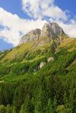 阿尔卑斯奥地利山ploeckenpass 免版税图库摄影
