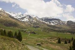 阿尔卑斯弗利克斯的看法 免版税库存图片