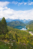 阿尔卑斯德国横向 库存照片