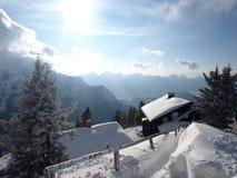 阿尔卑斯房子 库存图片