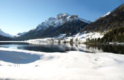 阿尔卑斯横向系列瑞士 免版税库存图片
