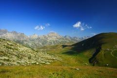 阿尔卑斯横向 免版税图库摄影