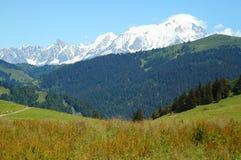 阿尔卑斯法国法语 免版税库存照片