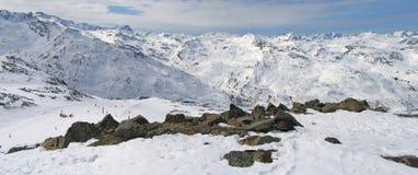 阿尔卑斯法国val岗位的thorens 库存照片