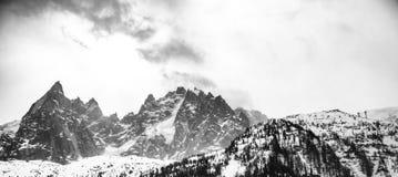 阿尔卑斯法语山 库存图片