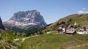 阿尔卑斯白云岩 库存图片