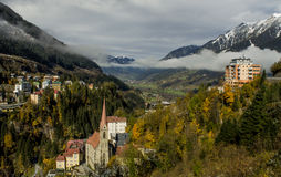 阿尔卑斯的视图 免版税库存照片