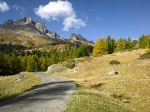 阿尔卑斯秋天 库存照片