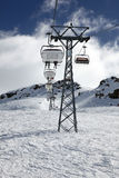 阿尔卑斯缆车瑞士 免版税库存照片