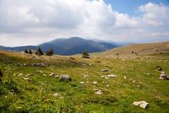 阿尔卑斯美丽的意大利山 图库摄影
