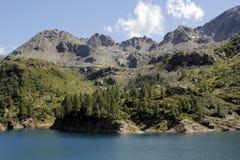 阿尔卑斯视图全景 免版税图库摄影