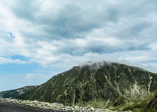 阿尔卑斯那边看法 库存照片