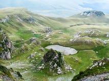 阿尔卑斯那边看法 免版税库存图片
