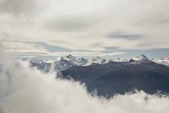 阿尔卑斯风景。 免版税库存图片
