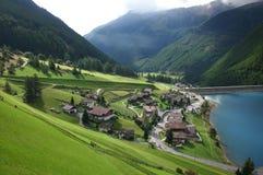 阿尔卑斯风景 图库摄影