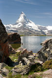 阿尔卑斯马塔角瑞士 免版税库存照片