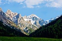 阿尔卑斯,奥地利 图库摄影