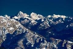 阿尔卑斯,白云岩 免版税库存照片