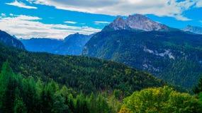 阿尔卑斯9的全景 图库摄影