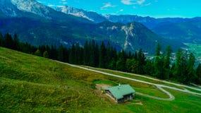 阿尔卑斯3的全景 免版税库存图片