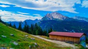 阿尔卑斯5的全景 免版税库存照片