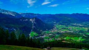 阿尔卑斯8的全景 免版税库存照片