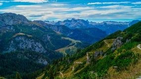 阿尔卑斯7的全景 免版税库存照片