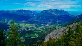 阿尔卑斯8的全景 免版税图库摄影