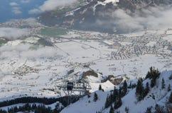 阿尔卑斯21 库存图片