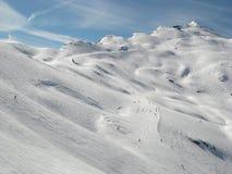 阿尔卑斯avoriaz 库存照片
