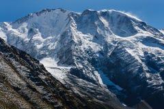 阿尔卑斯blanc意大利断层块mont全景 免版税库存图片
