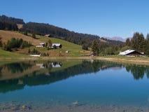 阿尔卑斯blanc法国地产mont 图库摄影