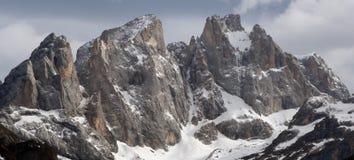 阿尔卑斯dolomiti意大利 库存照片