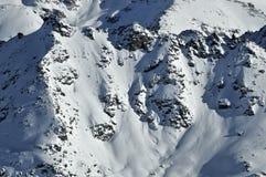 阿尔卑斯gele mont瑞士 库存图片