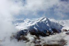 阿尔卑斯lenzerheide瑞士 库存图片