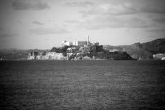 阿尔卡特拉斯岛在旧金山,加利福尼亚 库存图片