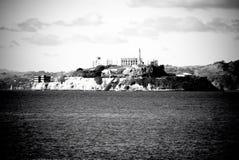 阿尔卡特拉斯岛在旧金山,加利福尼亚 免版税图库摄影